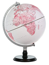 Replogle World's Greatest Mom Desktop Globe, Burgundy