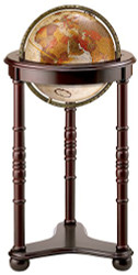 Replogle Lancaster Floor Globe, Bronze Metallic