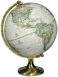 Replogle Grosvenor Desktop Globe, Antique