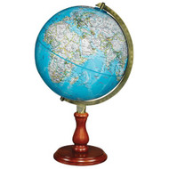 Replogle Hudson Desktop Globe, Blue