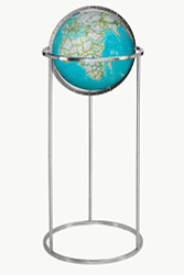 Replogle Coudreau Floor Globe, Blue