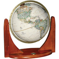 Replogle Compass Star Desktop Globe, Antique