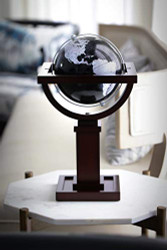 Replogle Mini Wright Desktop Globe, Slate Gray