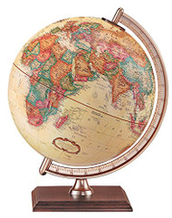 Replogle Forester Desktop Globe, Antique