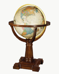 Replogle Annapolis Illuminated Floor Globe, Antique