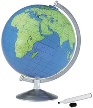 Replogle Geographer Desktop Globe, Write & Erase