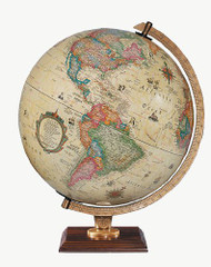 Replogle Carlyle Illuminated Desktop Globe, Antique