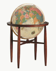 Replogle Finley Illuminated Floor Globe, Antique