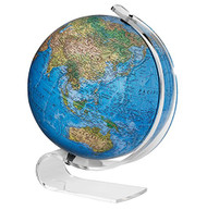 Replogle Consulate Illuminated Desktop Globe, Blue