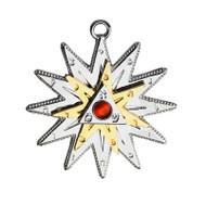 Eastgate Resource Kabbalah Star - Positive Energy and Protection Charm Pendant