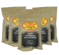 A.C. Legg #10 Pork Sausage Seasoning, 8 oz - 5 Pack