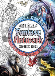 Eastgate Resource Anne Stokes Fantasy Art Coloring Book 2