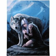 Anne Stokes Protector Canvas Art Print 7x10