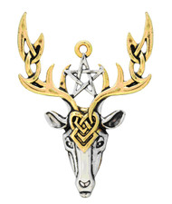 Eastgate Resource Beltane Stag for Fertile Energy Charm Pendant