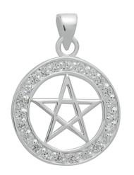 Starlinks Brilliant Silver Pentagram for Success