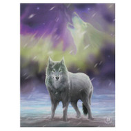 Lisa Parker Aura Wolf Canvas Art Print 7 x 10