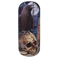 Lisa Parker Salem (Raven) Eye Glass Case by Lisa Parker