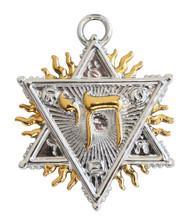Eastgate Resource Figure of Solomon - Spiritual Prosperity Charm Pendant