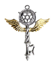 Eastgate Resource Key of Solomon - Protection of Mind and Spirit Charm Pendant