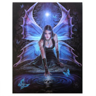 Anne Stokes Immortal Flight Canvas Print By Anne Stokes 7 x 10