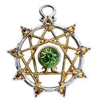 Eastgate Resource Enneagram- Greater Self Knowledge Charm Pendant