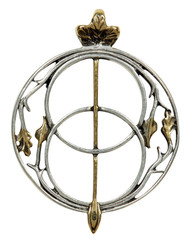 Eastgate Resource Chalice Well for Connecting with the Divine Pendant