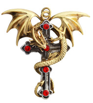 Eastgate Resource Crux Dragana for Confidence and Strong Protection by Anne Stokes Pendant