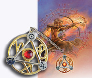Eastgate Resource Elemental Fire Talisman and Card