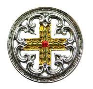 Eastgate Resource Engrailed Cross for the Meaning of Life Pendant