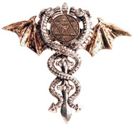 Eastgate Resource Sacred Dragon Amulet, Physical & Psychic Protection Talisman
