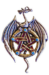 Eastgate Resource Earth Dragon, Protection from Betrayal Pendant with Chain