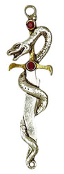 Eastgate Resource Dagger of Sea, Victory Over Secret Enemies Pendant with Chain