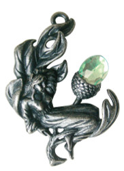 Eastgate Resource Acorn Faerie for Fertility & New Beginnings Pendant Charm