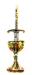 Eastgate Resource Blade and Chalice for Perfect Love and Perfect Trust Pendant