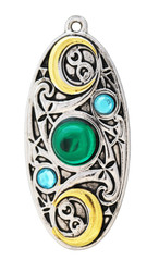 Eastgate Resource Moon Shield for Clarity and Reflection Pendant