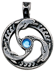 Eastgate Resource Dolphin Triskilian Pendant for Guidance & Inner Peace