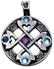 Eastgate Resource Celtic Cross Heart Pendant for True & Happy Friendship