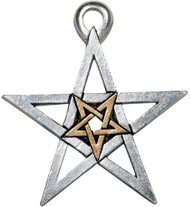 Eastgate Resource Double Pentagram Pendant