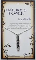 Starlinks Zebra Marble Pendant