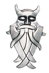Eastgate Resource Odin's Mask for Cunning and Discretion Pendant with Chain