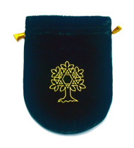 Eastgate Resource Green Velvet Tree of Life Tarot Bag