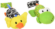 Infantino Tag Along Chimes Frog and Duck