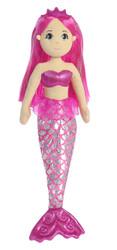 Aurora World Sea Sparkles Garnet Mermaid Plush Toy Animal