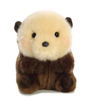 "Aurora World 16817 Rolly Pet Smiles Sea Otter Plush, 5"""