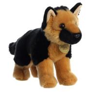 """Aurora - Miyoni - 10"""" German Shepherd Plush Toy Animal"""