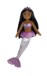 Aurora World Sea Sparkles Plush Toy Mermaid, Sophia Mermaid