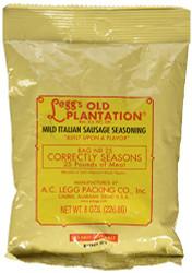 A.C. Legg INC Mild Italian Sausage Seasoning