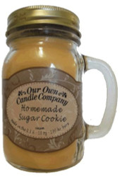 Homemade Sugar Cookie Scented 13 Ounce Mason Jar Candle By Our Own Candle Company