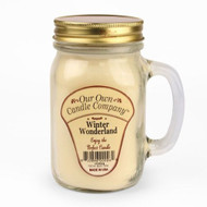 Winter Wonderland Scented 13 Ounce Mason Jar Candle By Our Own Candle Company