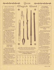 Your Magick Wand Parchment Paper Poster